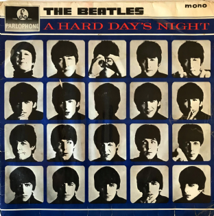 Beatles (The) - A Hard Day's Night (LP) (G-/F-G)